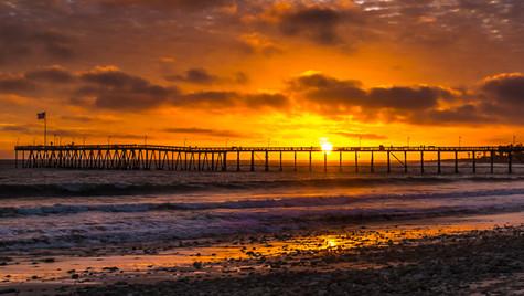 Ventura Pier Sunset