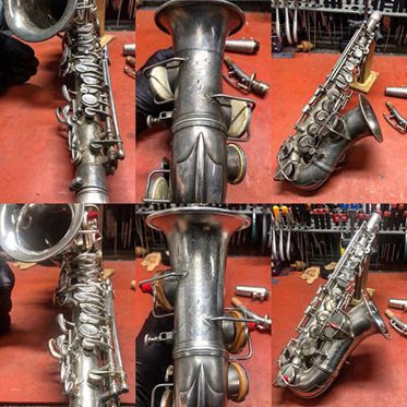 100 year old C-Melody Sax