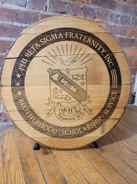 Custom Whiskey Barrel