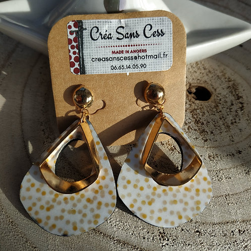 "Boucles d'oreilles ""LILOO-OR"""