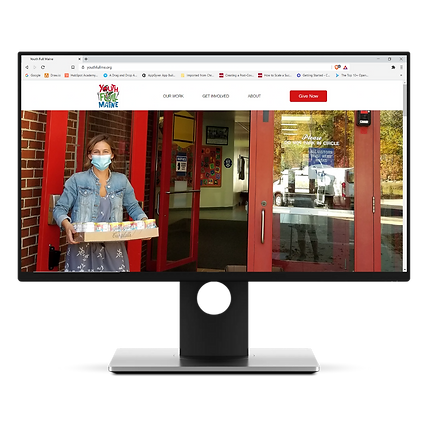Youth Full Maine Website Design