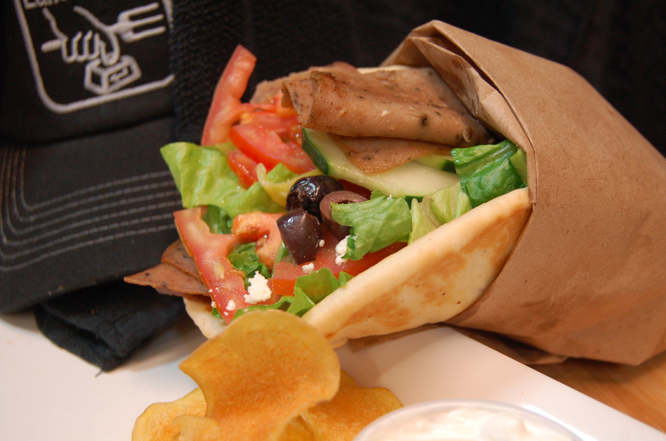 Lunch Takeout Gyro Hero pic
