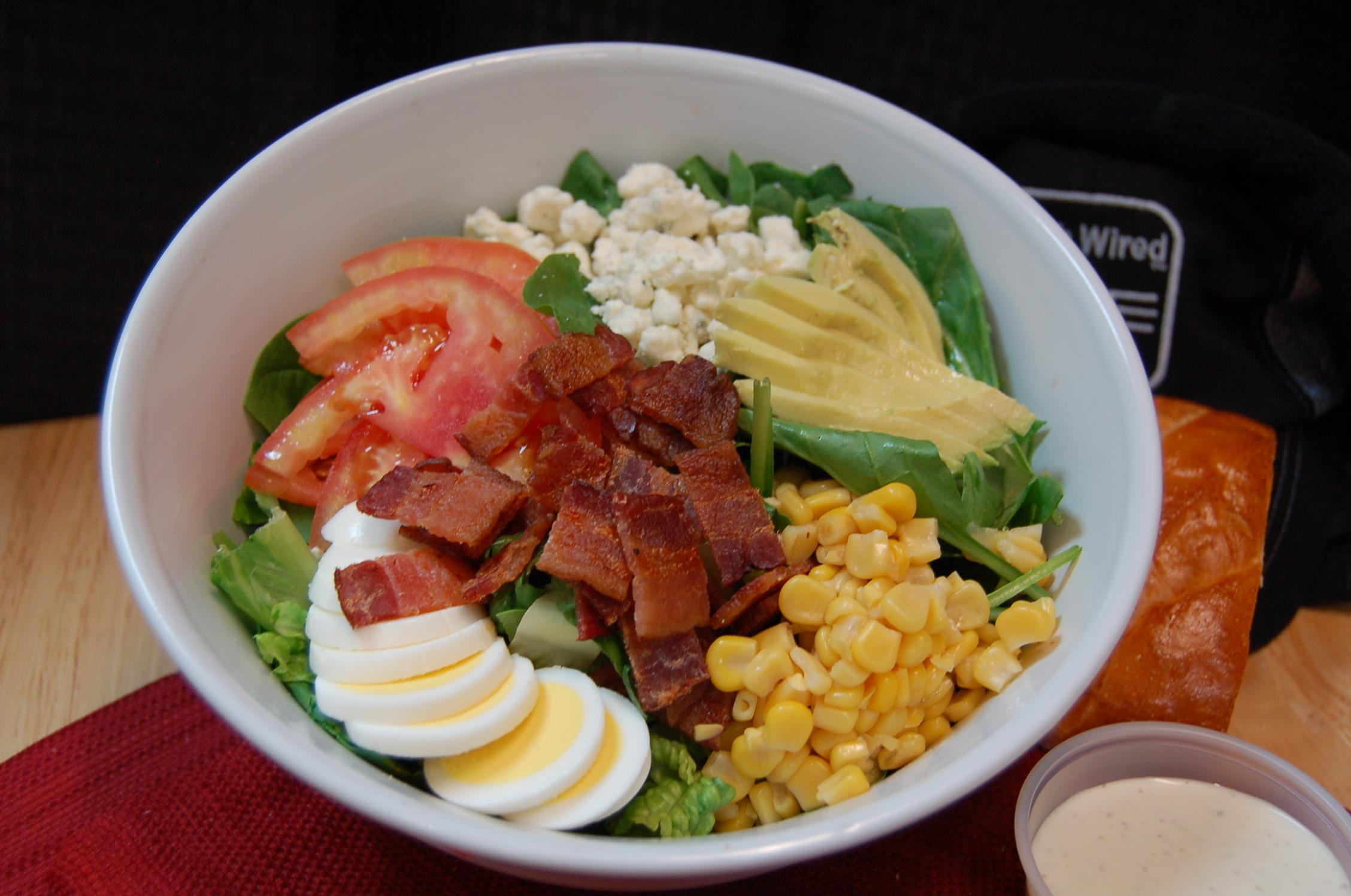 Takeout salad Cobbing me a Liar pic