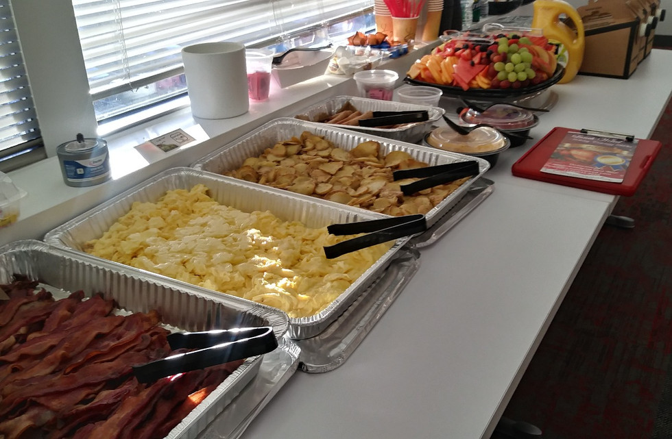 Corporate Breakfast Catering Buffet pic