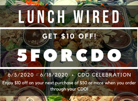 Lunch Wired CDO adds 5th Community!
