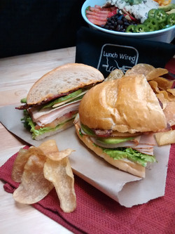 Sandwich Lunch Catering pic