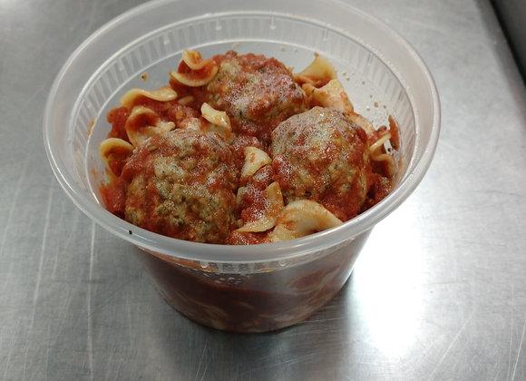 Kids Corner Pasta and Meatballs