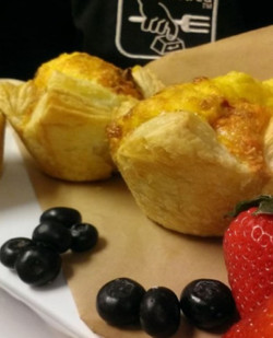 Personal Quiche Breakfast Catering