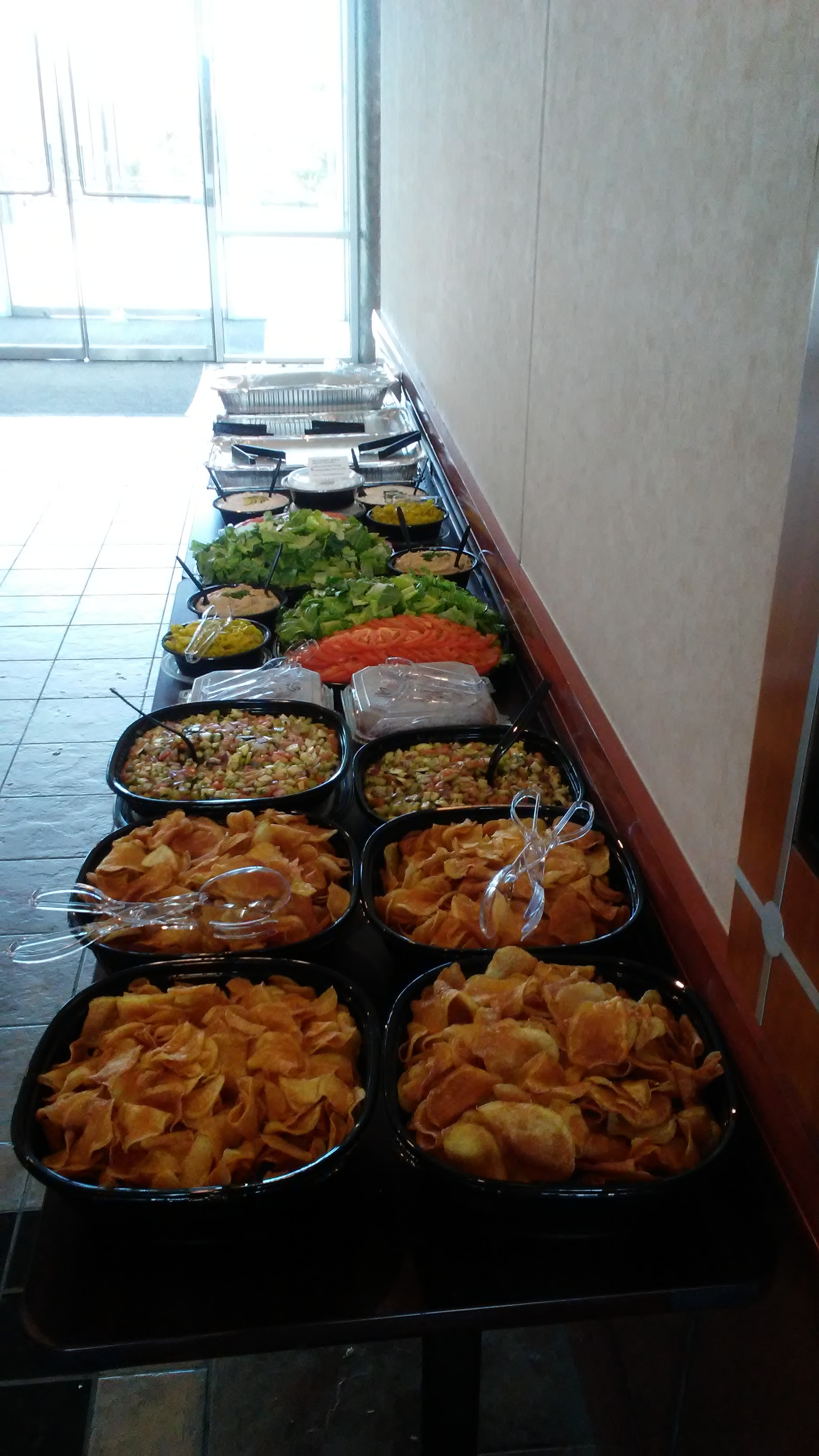 Catering Lunch Pic