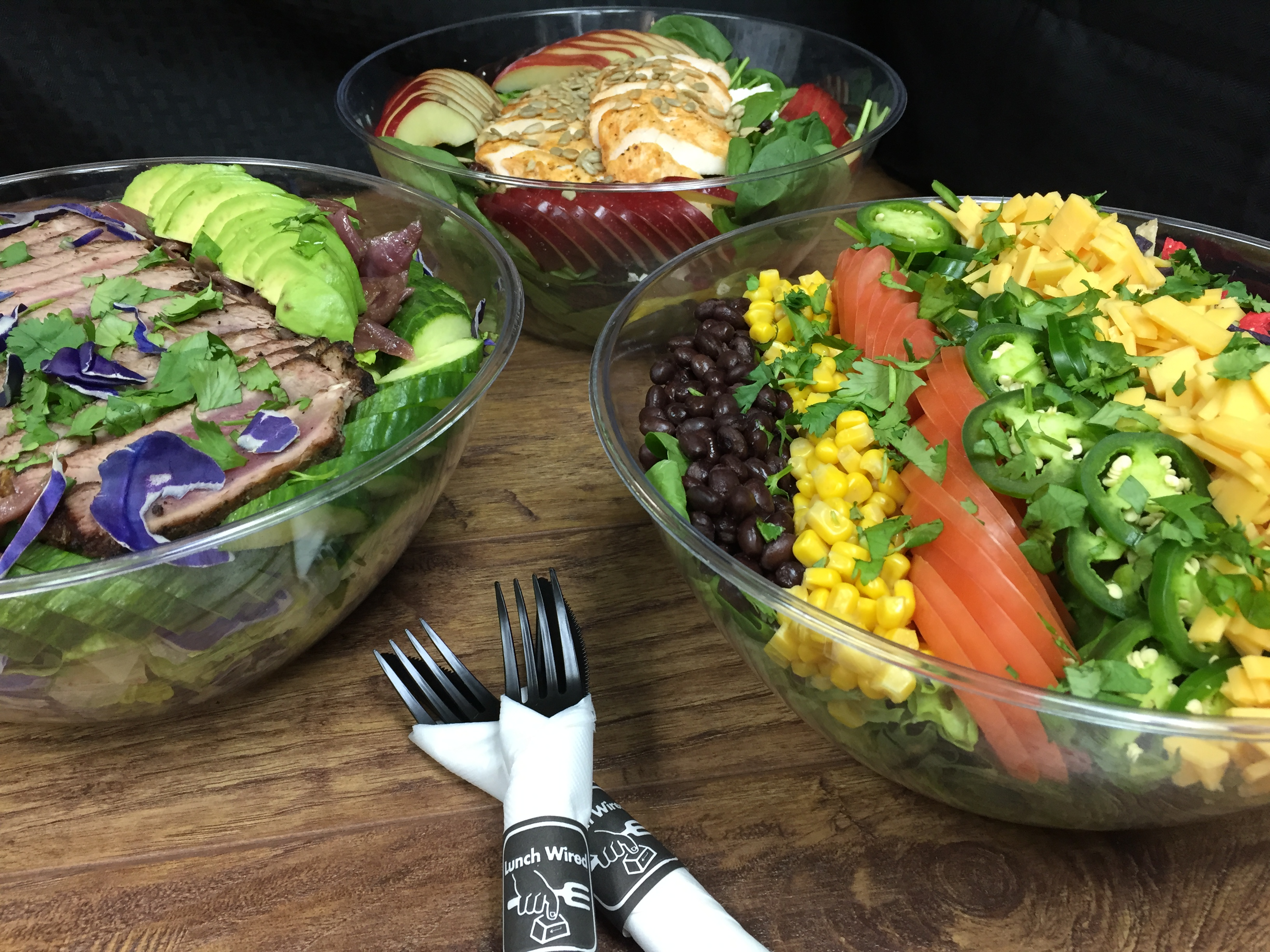 Lunch Catering Salads pic