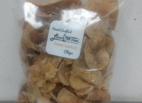 Jumbo Bag of Parm Garlic Chips
