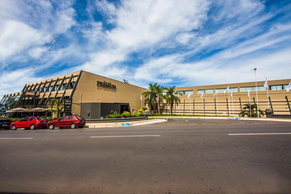 foto do prédio do Premium Vila Velha Hotel
