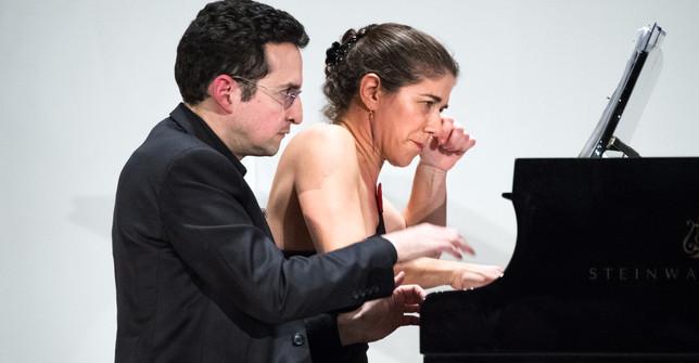 Inna Faliks, piano; Daniel Schlosberg, piano