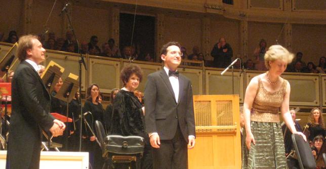 Daniel Schlosberg with Chicago Symphony Orchestra
