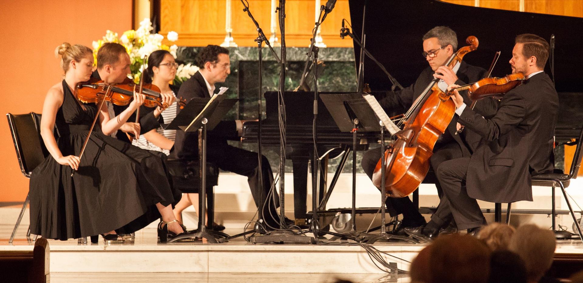Daniel Schlosberg with Spektral Quartet