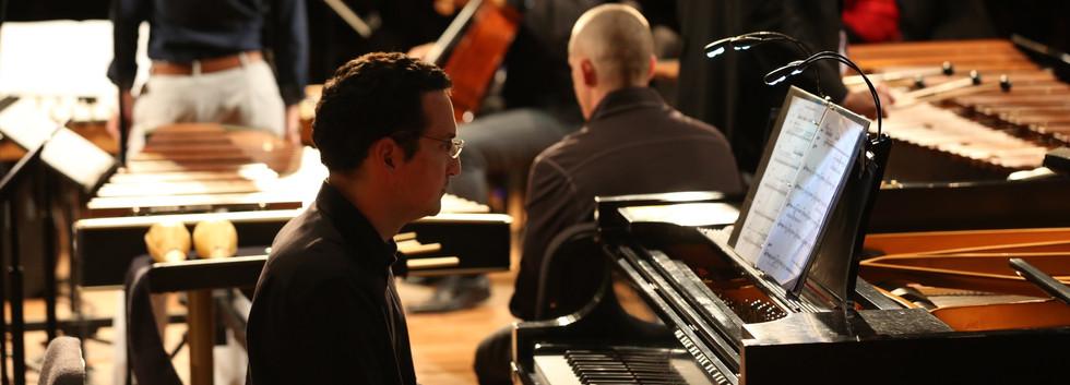 Daniel Schlosberg with Eighth Blackbird and Third Coast Percussion