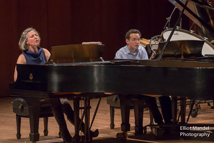 Lisa Kaplan, piano; Daniel Schlosberg, piano