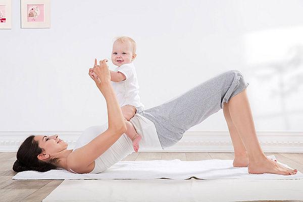 pilates mamma-bambino