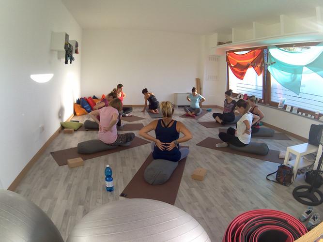 Yoga in gravidanza a Udine