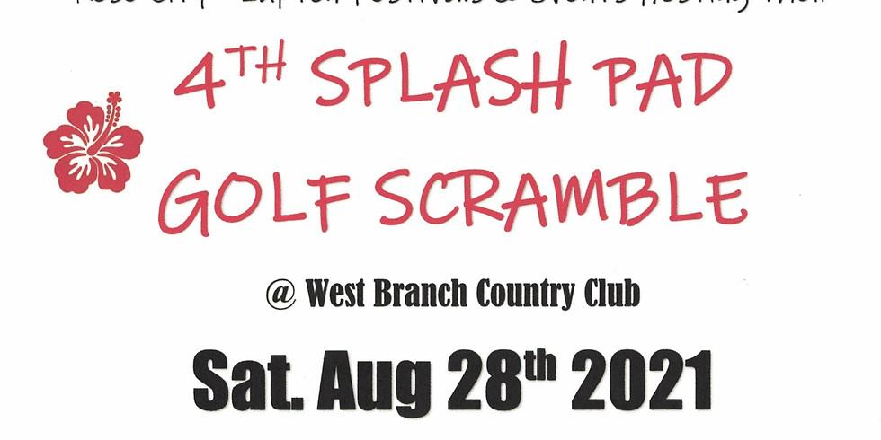 4th Annual Splash Pad Golf Scramble