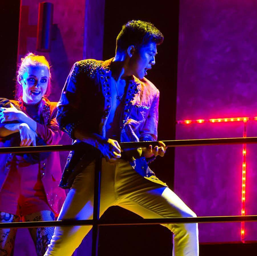 "Ensemble in ""American Idiot"""