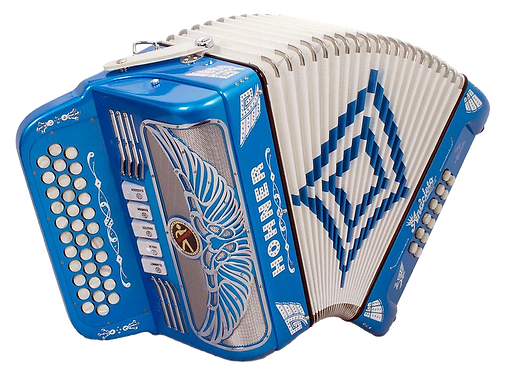 Hohner Anacleto Rey Aguila 5 Switch Metallic Blue