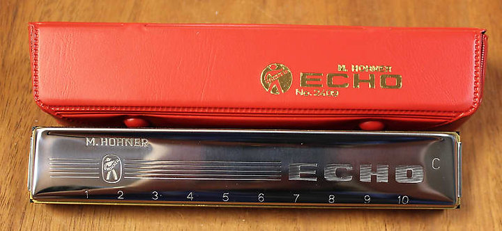 Hohner Echo Harmonica No. 2409 in the Key of C