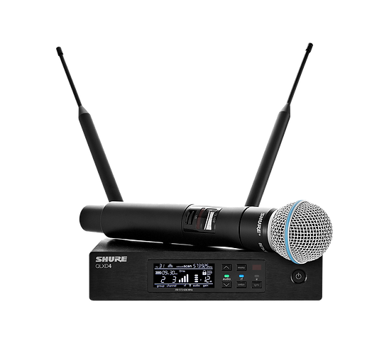 Shure QLXD24/B58 Wireless Microphone Beta 58