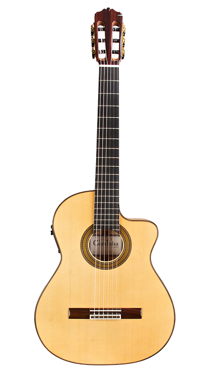 FCWE Cordoba Gypsy King's Reissue Classical Guitar