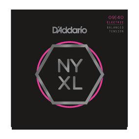 D'ADDARIO Electric Guitar Strings NYXL0940BT Nickel Wound, Balanced Tension Supe