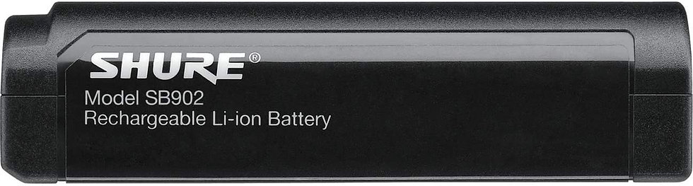 Shure SB902 Lithium-ion battery for GLX-D and MXW2 Wireless Transmitters