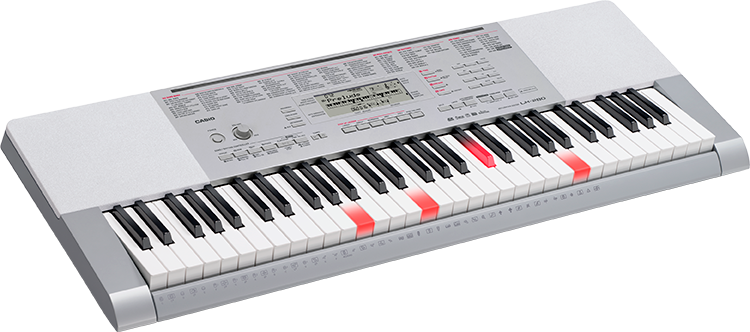 LK280 Casio Keyboard 61 lighted touch response keys