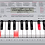 Thumbnail: LK280 Casio Keyboard 61 lighted touch response keys
