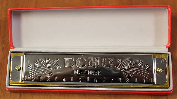 Hohner Echo Harmonica No.8362 in the Key of C