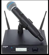 Shure GLXD24R/B58 Wireless System