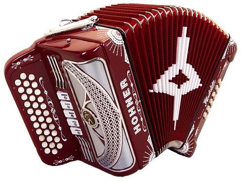 Hohner Anacleto Rey Del Norte III Compact Red
