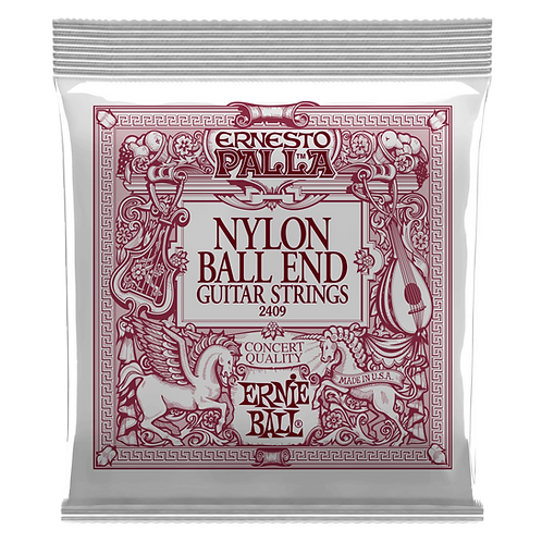 ERNESTO PALLA BLACK & GOLD BALL-END NYLON CLASSICAL GUITAR STRINGS