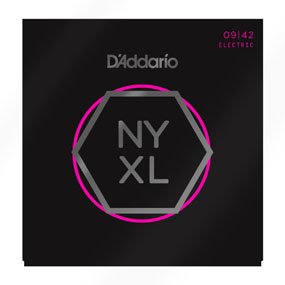 D'ADDARIO Electric Guitar Strings NYXL0942 Nickel Wound, Super Light, 09-42