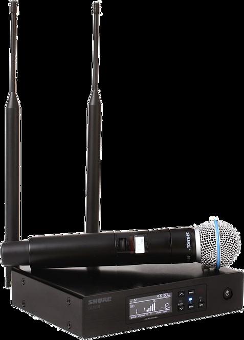 Shure QLXD24/B58 Wireless Microphone