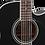 Thumbnail: EF381SC Takamine 12-String Dreadnought gloss black finish