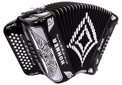 Hohner Anacleto Rey Aguila Compact Black