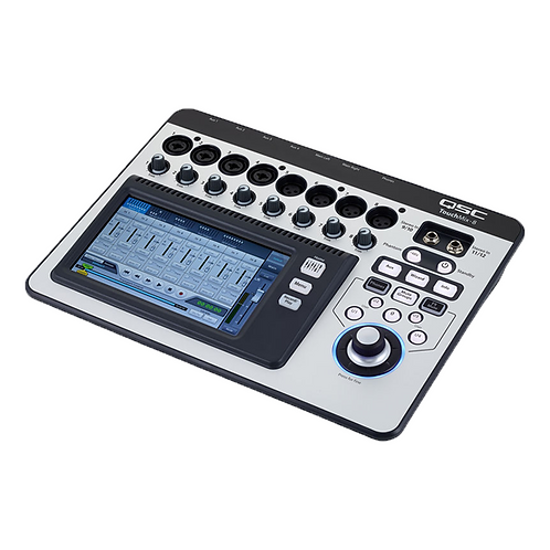 QSC TouchMix-8 14-channel Touchscreen Digital Mixer