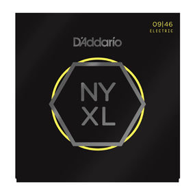 D'ADDARIO Electric Guitar Strings NYXL0946 Nickel Wound, Super Light Top / Regul