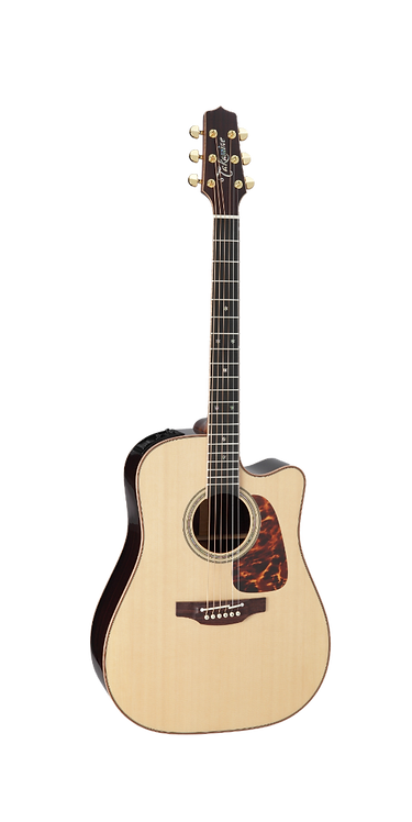 P7DC Takamine Acoustic Guitar With Cutaway