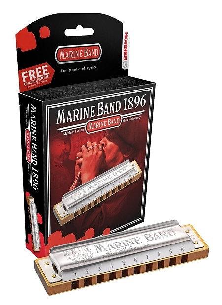 Hohner 364S-C Marine Band 364/24 Soloist Harmonica - Key of C