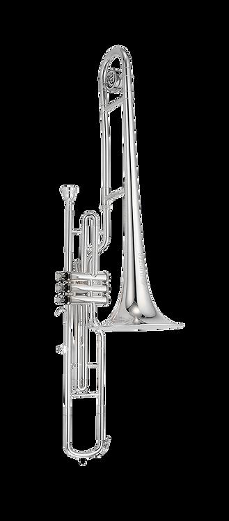 JTB720VS JUPITER Valve Trombone Silver-plated Finish