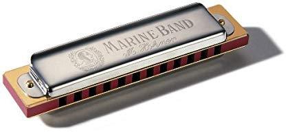 HOHNER 12 Hole Marine Band Harmonica