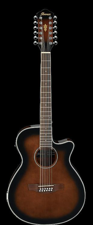 AEG1812II-DVS  IBANEZ 12-String Electric/Acoustic Guitar