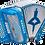 Thumbnail: Anacleto Rey del Norte 5 Registers  Blue Metallic Compact