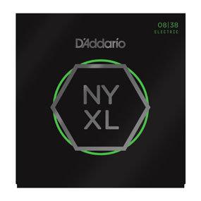 D'ADDARIO Electric Guitar NYXL0838 Nickel Wound, Extra Super Light, 08-38